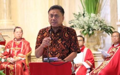 Gubernur Olly Ajak Umat Katolik Doakan Sulut Terhindar dari Bencana