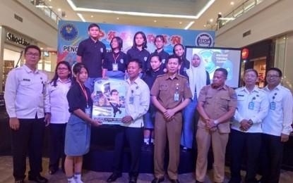BNNP Sulut Sosialisasi Narkoba Bagi Siswa di Manado