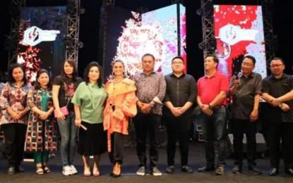 Agnez Mo Hentak Konser Internasional North Sulawesi Christmas Festival 2019