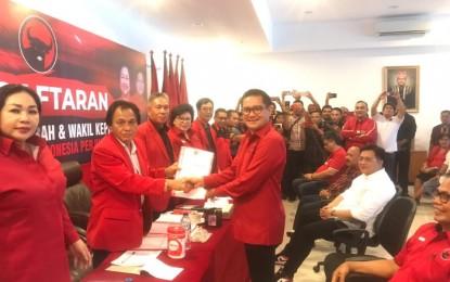 JG Bakal Calon Bupati Minut dari PDIP
