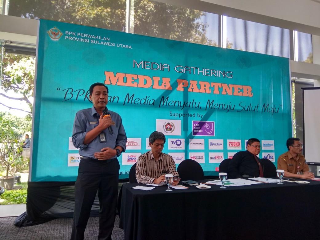 Kepala BPK Perwakilan Sulut, Karyadi, SE, MM, Ak, CA.
