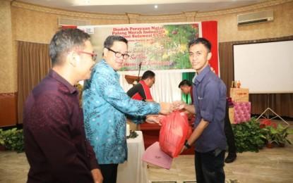 Natal PMI Sulut, Wagub Kandouw Apresiasi Kerja Kemanusiaan Relawan