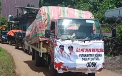 ODSK Terus Salurkan Bantuan Untuk Korban Banjir dan Longsor di Sangihe