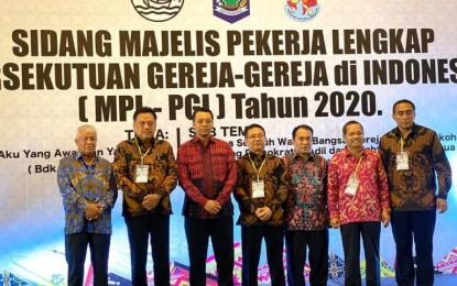Selaku Pengurus PGI, Gubernur Olly Hadiri Sidang MPL PGI di NTB