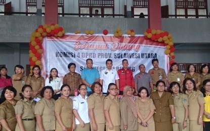 Komisi IV DPRD Sulut, Serap Aspirasi di SMAN 1 Bitung