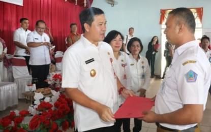 Wagub Kandouw Motivasi ASN dan THL Dinas Dikda Sulut