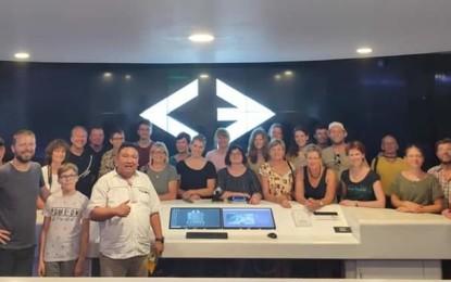 Turis Jerman Puji Cerdas Command Center Pemkot Manado