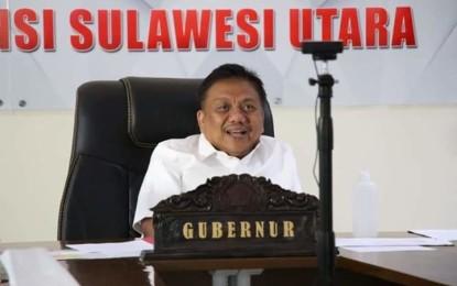 Bahas Covid-19, Gubernur Olly Ikut Ratas Online Bersama Presiden