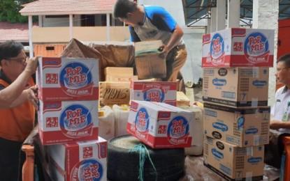 ODSK Gerak Cepat Salurkan Bantuan Bagi Korban Banjir Bandang Bolmut