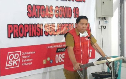 Di Sulut, Satu Pasien Covid-19 Sudah Sembuh !!