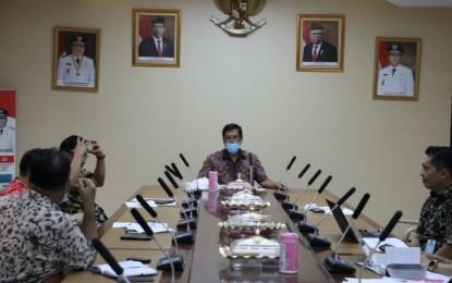 Wagub Kandouw Pimpin Ratas Online Tindak Lanjut Instruksi Presiden Jokowi