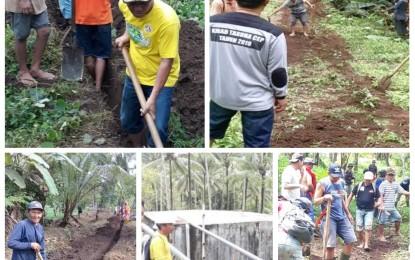 Benahi Air Bersih, Johann Egeten Bangun Sinergitas Antara Warga Desa