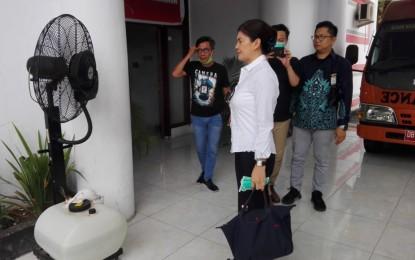 Ini yang Dilakukan Ketua Komisi IX DPRD RI FER, dalam Kunjungan Kerja di BPBD Sulut