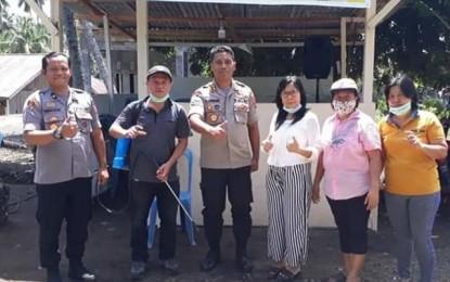 Mengawal Maklumat Kapolri_AKBP. Bangun Widi Septo Kunjungi POSKO COVID-19 Desa Pakuweru