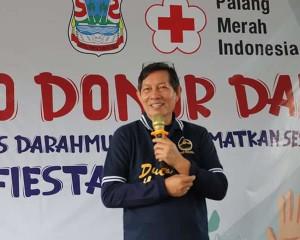 Walikota Lumentut Apresiasi Kegiatan AYO DONOR DARAH PMI Kota Manado