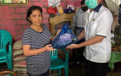 BW Salurkan Bantuan untuk Masyarakat di Tomohon dan Minahasa