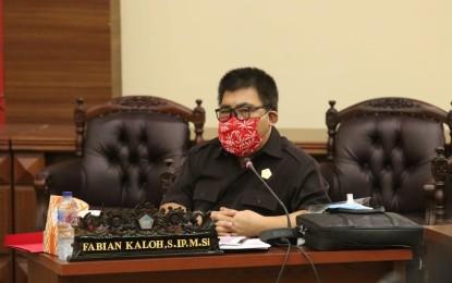 Pembahasan LKPJ Hari Terakhir, Fabian Kaloh Pertanyakan Nasib Penambang Rakyat