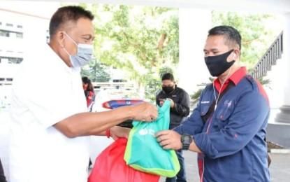 Di Hari Buruh se-Dunia, Gubernur Olly Berbagi Kasih dengan Buruh di Sulut