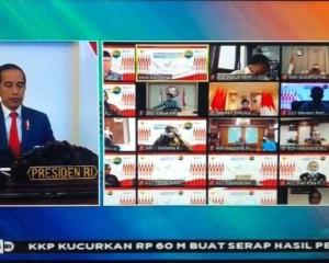 Dibuka Presiden Joko Widodo, Walikota GSV Lumentut Hadiri Musrembang Nasional Melalui Vidcon