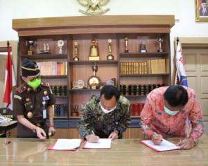 Kawal Dana Covid-19, Gubernur Sulut MoU dengan Kajati dan Kaper BPKP Sulut