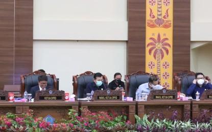 Ini Yang Dibahas DPRD Sulut Dalam Rapat Paripurna Internal