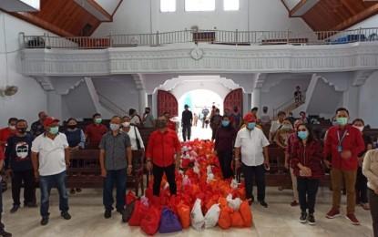 3.200 Paket Sembako Pemprov Sasar Warga Pulau Lembeh