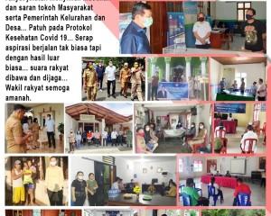 Reses I DPRD Sulut 2020 di Tengah Pandemi Covid-19