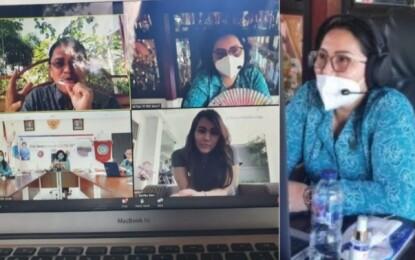 Ibu Rita Ajak Kader PKK Wujudkan Ketahanan Pangan di Tengah Covid-19