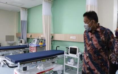 Dukungan RS Dr JH Awaloei Tangani Pasien Covid-19 Direspon Positif Gubernur Olly