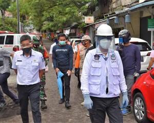 Walikota GSV Lumentut Pantau Langsung Rekayasa Pasar Pinasungkulan