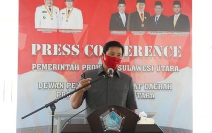 Rapat Paripurna DPRD Sulut, Wagub Kandouw Jelaskan Ranperda APBD 2019