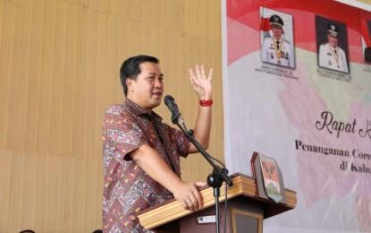 Wagub Kandouw Sebut Disiplin Patuhi Protokol Kesehatan Kunci Aktivitas Ekonomi Aman Covid-19