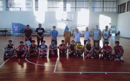 Tim Basket Putra PON Sulut Mulai Ditempa
