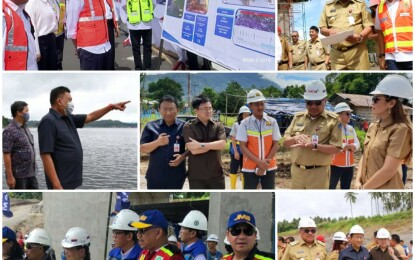 Gubernur Olly dan Wagub Kandouw Terus Genjot Kemajuan Infrastruktur Sulut Meski di Pandemi Covid-19