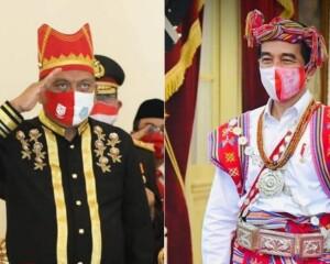 Gubernur Olly Ikuti Upacara Bersama Presiden Joko Widodo Secara Virtual