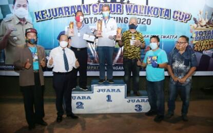 Pesona Rebut Juara Umum, Lomban Tutup Kejuaraan Catur Walikota Cup