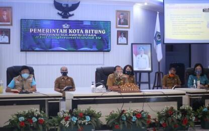 Kerja Keras Walikota Max Lomban; Realisasi Anggaran Capai 52 Persen, Bitung Posisi 19 se-Indonesia