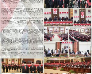 Deprov dan Pemprov Saksikan Siaran Langsung Pidato Presiden
