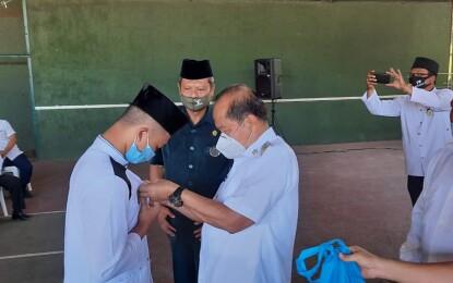 Siap Seleksi MTQ Tingkat Provinsi, Max Lomban Lepas Qori dan Qoriah Utusan Kota Bitung