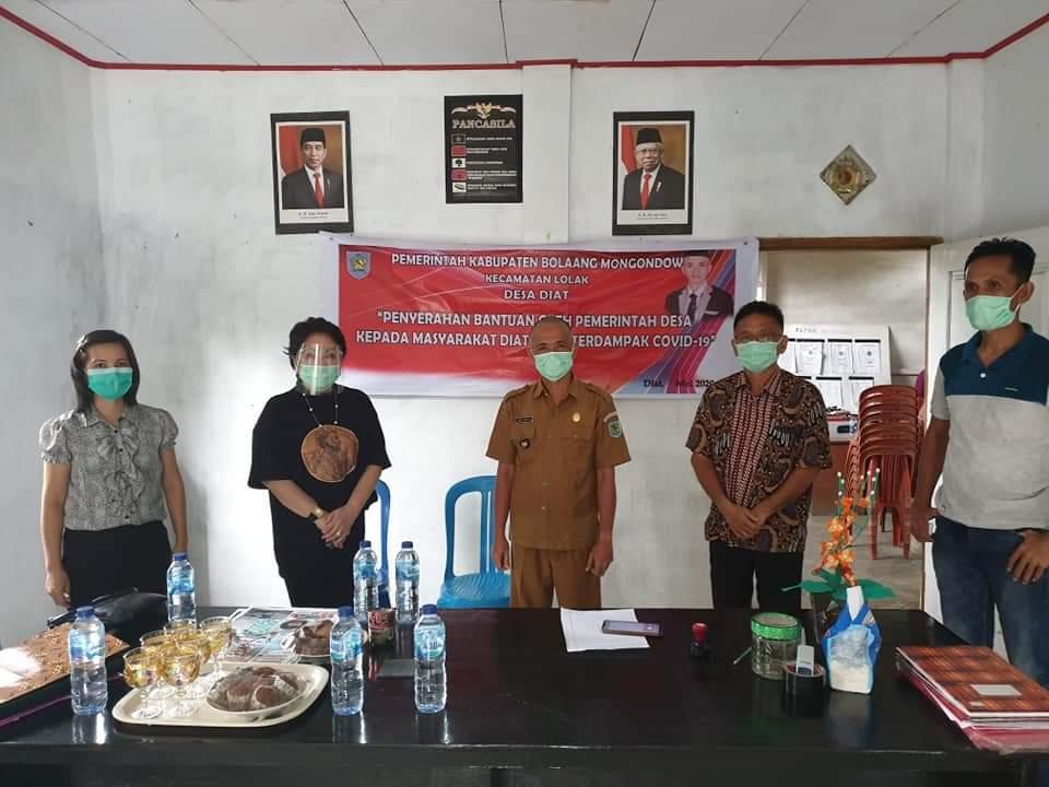 Salah satu tempat pelaksanaa Reses II Tahun 2020, Anggota DPRD Sulut, Sjenny Kalangi