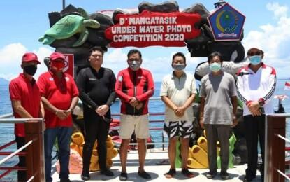 Gubernur Olly Buka Event Mangatasik Underwater Photo Competition 2020