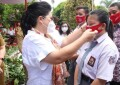 TP PKK Sulut Bagikan Masker ke Sekolah dan Panti Asuhan