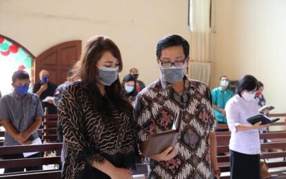 Wagub Kandouw : Gereja Harus Jadi Sumber Cinta Kasih