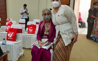 HUT Ke-56 Sulut; Isteri Gubernur Pertama Sulut Terima Ucapan Spesial Netty Agnes Pantouw