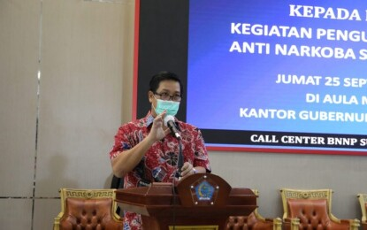 Say No To Drugs, Wagub Kandouw Dukung Penuh Pemberantasan Narkoba di Sulut