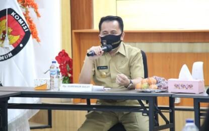 Pjs Gubernur Sulut : Pilkada Momentum Perkuat Penanganan Covid-19