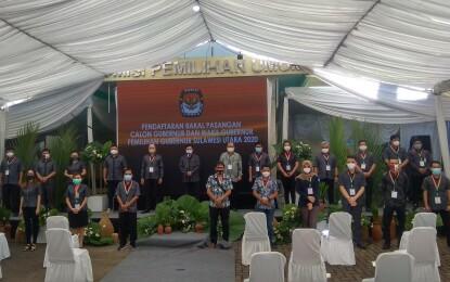Ardiles Mewoh Buka Tahapan Pendaftaran Pasangan Cagub dan Cawagub Sulut