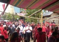 Massa Pendukung FDW-PYR_Macetkan Tiga Kecamatan Tompaso Baru,Maesaan dan Modoinding.