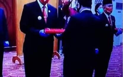ONIBALA ; JUJUR..Saya Kecewa!!! Pelantikan Pejabat Bupati Minsel Tidak Dihadiri Pejabat Eselon