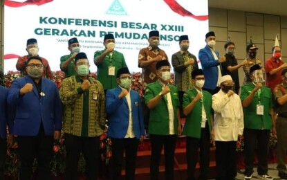 Secara Virtual Jokowi Buka Konbes XXIII GP Ansor di Sulut